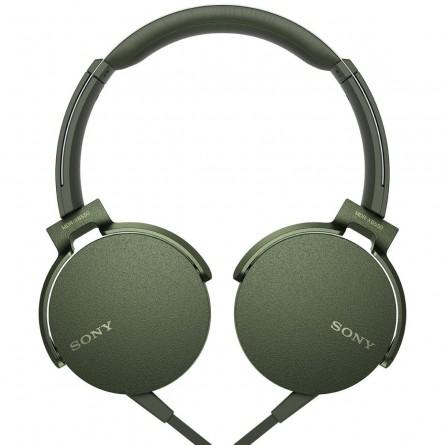 Зображення Навушники Sony MDR XB 550 APB Green - зображення 1