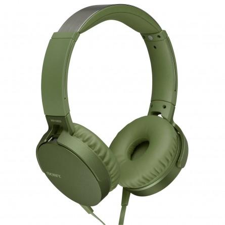 Изображение Наушники Sony MDR XB 550 APB Green - изображение 2