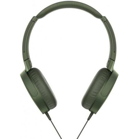 Изображение Наушники Sony MDR XB 550 APB Green - изображение 3