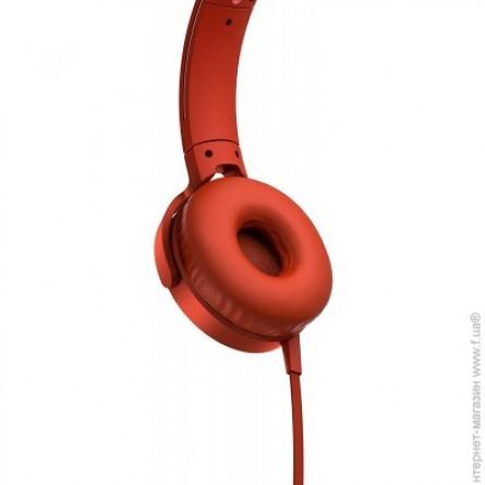 Зображення Навушники Sony MDR XB 550 APR Red - зображення 2