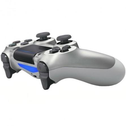 Зображення Геймпад Sony PS Dualshock v2 Cont Silver - зображення 4