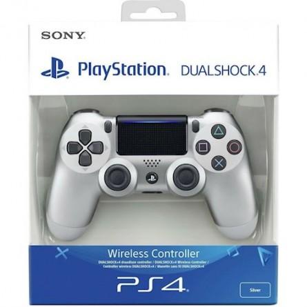 Зображення Геймпад Sony PS Dualshock v2 Cont Silver - зображення 5