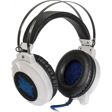 Зображення Навушники Defender Icefall G 510 D White Blue - зображення 1