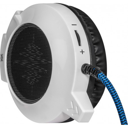 Зображення Навушники Defender Icefall G 510 D White Blue - зображення 3