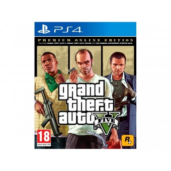 Изображение Диск Sony BD Grand Theft Auto V Premium Edition 5026555426886