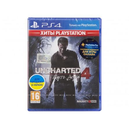 Зображення Диск Sony BD Uncharted 4 Шлях злодія 9420378 - зображення 1