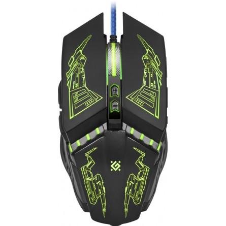 Зображення Комп'ютерна миша Defender Halo Z GM-430L Black (52430) - зображення 1