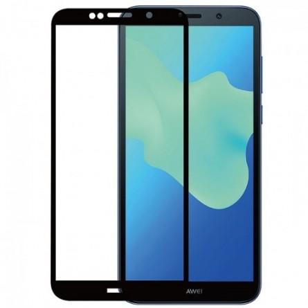 Зображення Захисне скло Kira Slim Shell Huawei Y5 2018 3 D Black - зображення 1