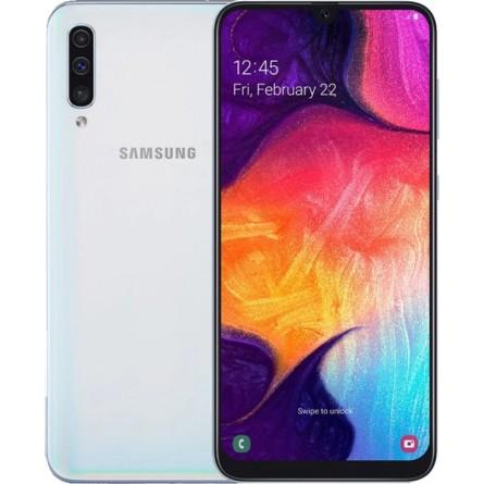 Изображение Смартфон Samsung Galaxy A 50 6/128 Gb White (A 505 F) - изображение 1