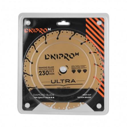 Изображение Круг отрезной Дніпро М 81959 000 Алмазний диск 230 (22,2 Ultra) - изображение 2