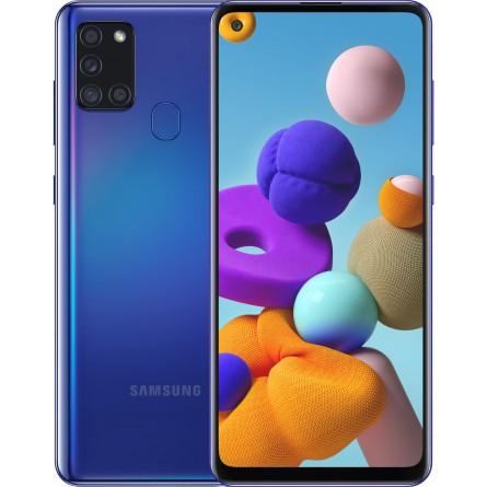 Зображення Смартфон Samsung SM-A217F (Galaxy A21s 3/32GB) Blue - зображення 1