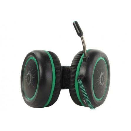 Изображение Наушники Defender Dead Fire G 530 D Black green - изображение 5
