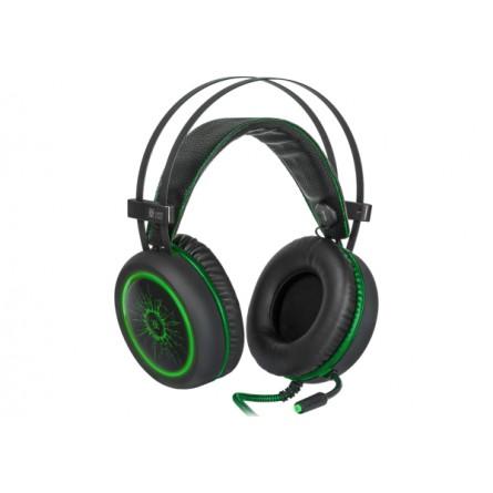 Изображение Наушники Defender Dead Fire G 530 D Black green - изображение 3