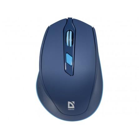 Изображение комп. миша Defender MM 785 Blue - изображение 1