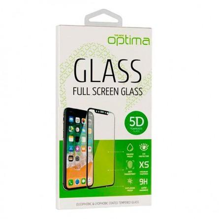 Изображение Захисне скло Optima H PSP Black 5 D - изображение 1