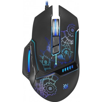Изображение Компьютерная мыш Defender Kill'em All GM-480L Black (52480)