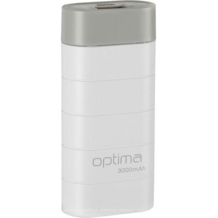 Изображение Мобильная батарея Gelius OPB 3 3000 mAh White Grey - изображение 1