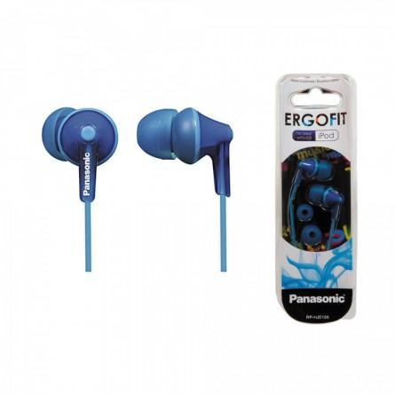 Изображение Наушники Panasonic RP HJE 125 EA Blue - изображение 1
