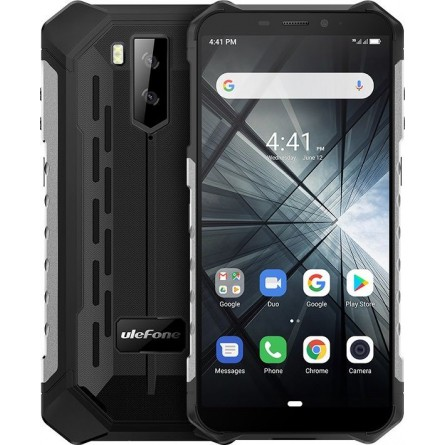 Зображення Смартфон Ulefone Armor X 3 Black Silver - зображення 1