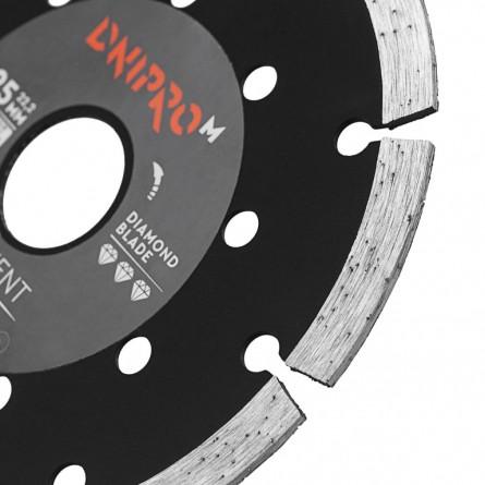 Зображення Круг відрізний Дніпро М 72521 002 Алмазний диск 125 (22,2 Сегмент) - зображення 4