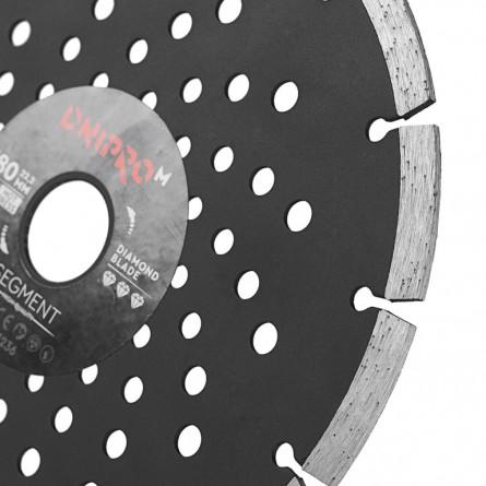 Зображення Круг відрізний Дніпро М 81955 000 Алмазний диск 180 (22,2 Сегмент) - зображення 4