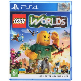 Зображення Диск Sony BD LEGO Worlds 2205399
