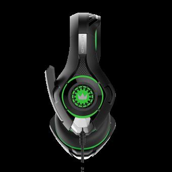 Зображення Навушники Crown CMGH 102 T Black green
