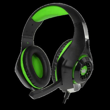 Зображення Навушники Crown CMGH 102 T Black green - зображення 2