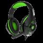 Зображення Навушники Crown CMGH 102 T Black green - зображення 4