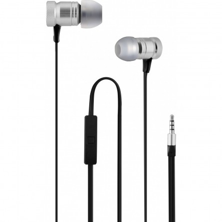 Зображення Навушники Wesdar R 6 with mic silver - зображення 1