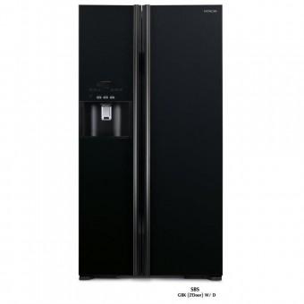 Зображення Холодильник Hitachi R-S700GPUC2GBK