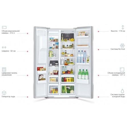 Зображення Холодильник Hitachi R-S700GPUC2GS - зображення 4