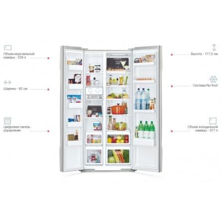 Зображення Холодильник Hitachi R-S700PUC2GS - зображення 4