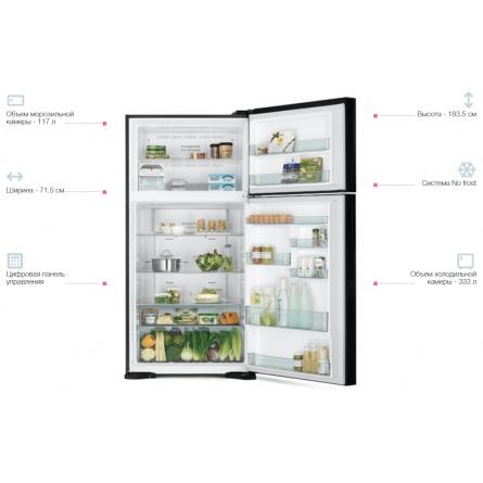 Изображение Холодильник Hitachi R-V540PUC7PWH - изображение 3