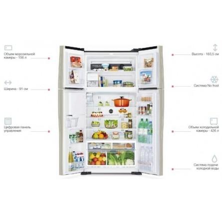 Изображение Холодильник Hitachi R-W720PUC1GBK - изображение 4