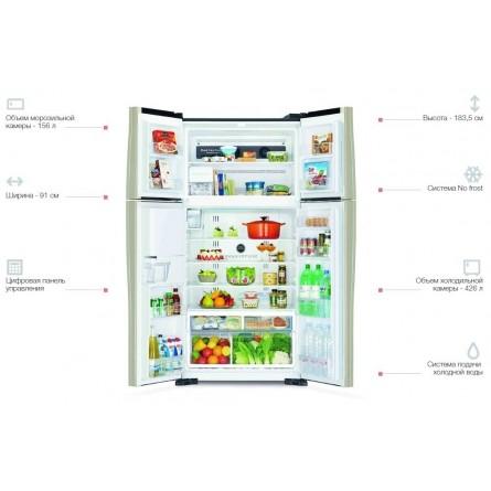 Изображение Холодильник Hitachi R-W720PUC1GGR - изображение 3