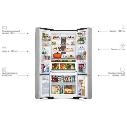 Изображение Холодильник Hitachi R-WB730PUC5GBK - изображение 7