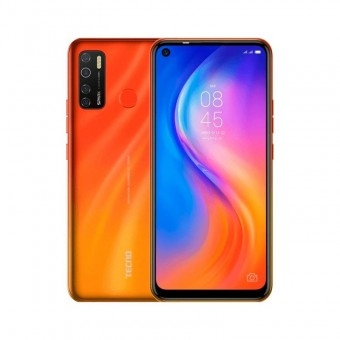 Зображення Смартфон Tecno Spark 5 Pro (KD7) 4/64Gb Dual SIM Spark Orange