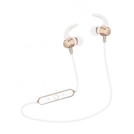 Зображення Навушники Wesdar R 22 with mic Gold white - зображення 1