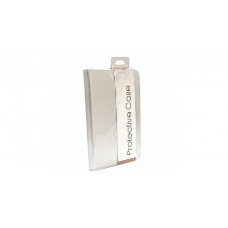 Изображение Чехол для планшета Lagoda Clip Stand 6-8 Silver Rainbow 2000041800018 - изображение 1