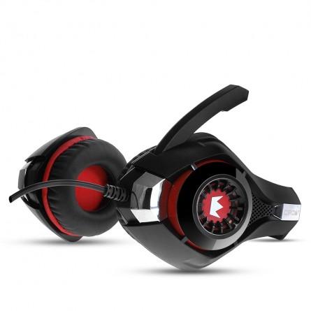 Зображення Навушники Crown CMGH 102 T Black red - зображення 3