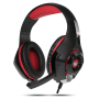 Зображення Навушники Crown CMGH 102 T Black red - зображення 5