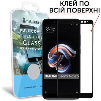 Зображення Захисне скло Make Future Xiaomi Redmi Note 5 A Prime FC Black