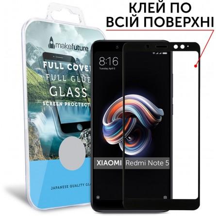 Изображение Защитное стекло Make Future Xiaomi Redmi Note 5 A Prime FC Black - изображение 1