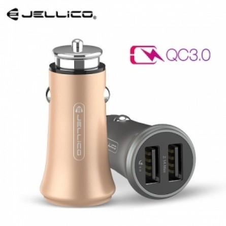 Изображение СЗУ Jellico MQC 4.0 2 USB QC 3.0 Grey - изображение 1