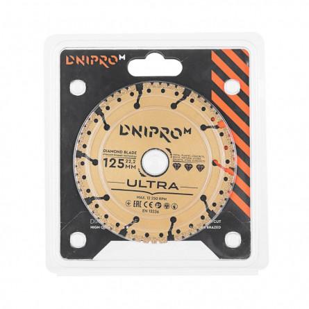 Изображение Круг отрезной Дніпро М 81947 000 Алмазний диск 125 (22,2 Ultra) - изображение 2