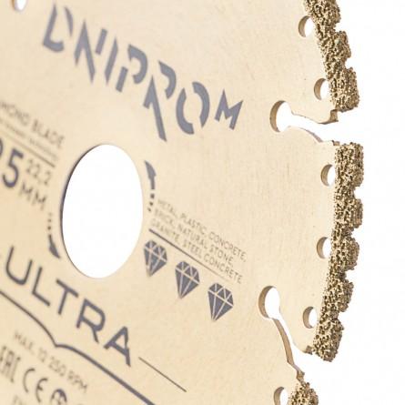 Изображение Круг отрезной Дніпро М 81947 000 Алмазний диск 125 (22,2 Ultra) - изображение 3