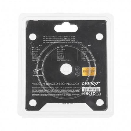 Изображение Круг отрезной Дніпро М 81947 000 Алмазний диск 125 (22,2 Ultra) - изображение 4