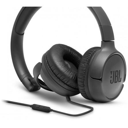 Изображение Наушники JBL T 500 Black - изображение 3