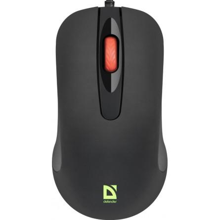 Зображення Комп'ютерна миша Defender Ultra Classic MB 280 Black - зображення 1